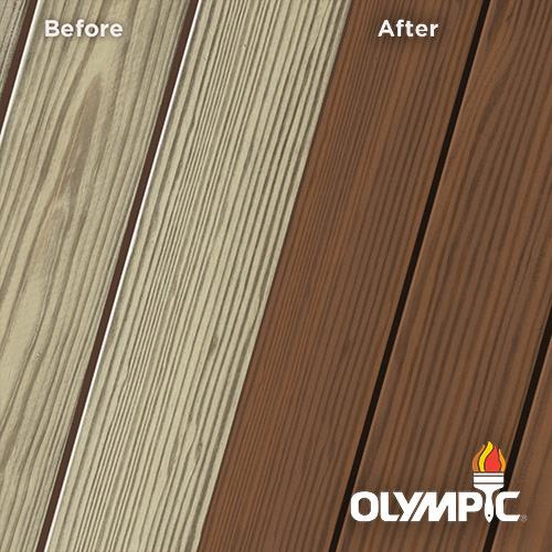 Exterior Wood Stain Colors - Canyon Sunset - Wood Stain Colors From OlympicStains.com