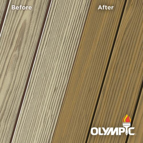 Exterior Wood Stain Colors - Ginger - Wood Stain Colors From Olympic.com