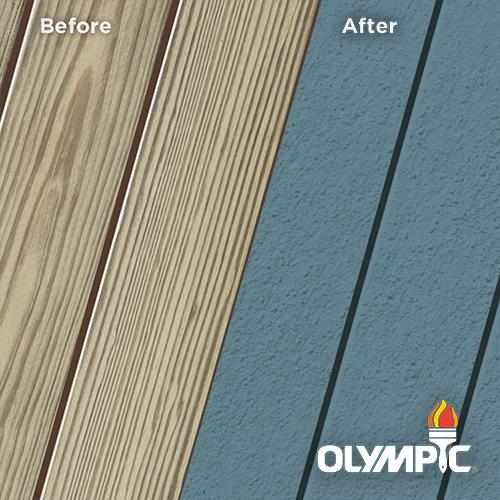 Exterior Wood Stain Colors - Traditional Blue - Wood Stain Colors From Olympic.com