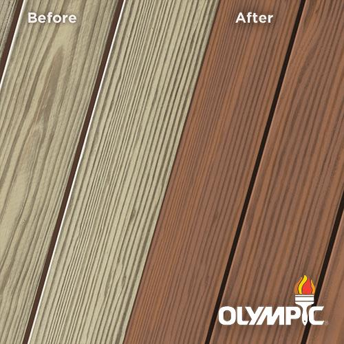 Exterior Wood Stain Colors - Maple Brown - Wood Stain Colors From Olympic.com