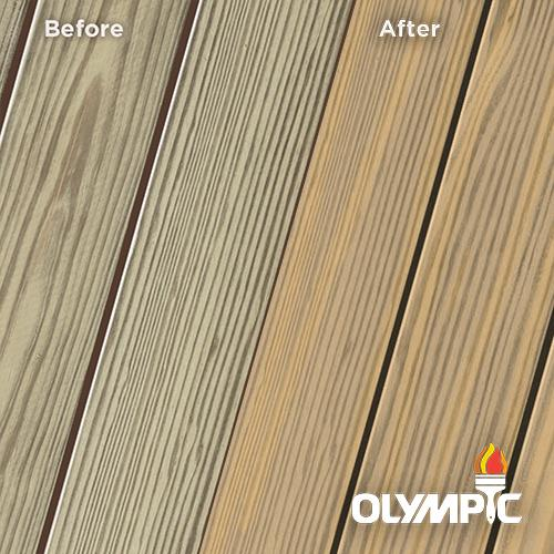 Exterior Wood Stain Colors - Light Oak - Wood Stain Colors From Olympic.com