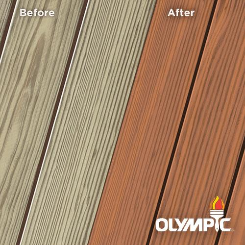Exterior Wood Stain Colors - Redwood - Wood Stain Colors From OlympicStains.com