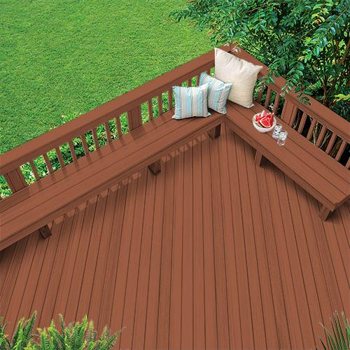 Exterior Wood Stain Colors - Jatoba - Wood Stain Colors From Olympic.com