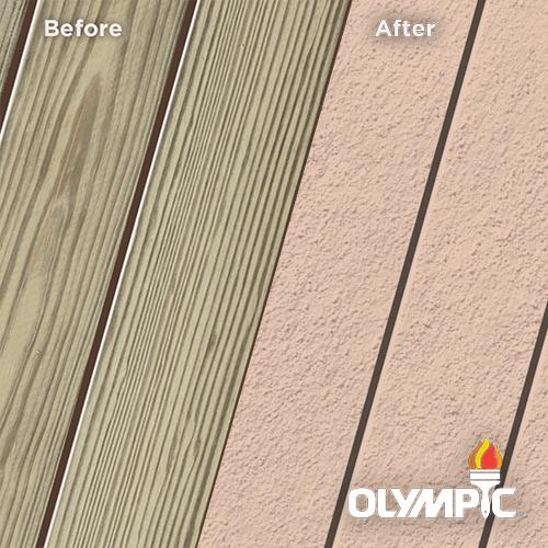Exterior Wood Stain Colors - Pink Sand - Wood Stain Colors From Olympic.com