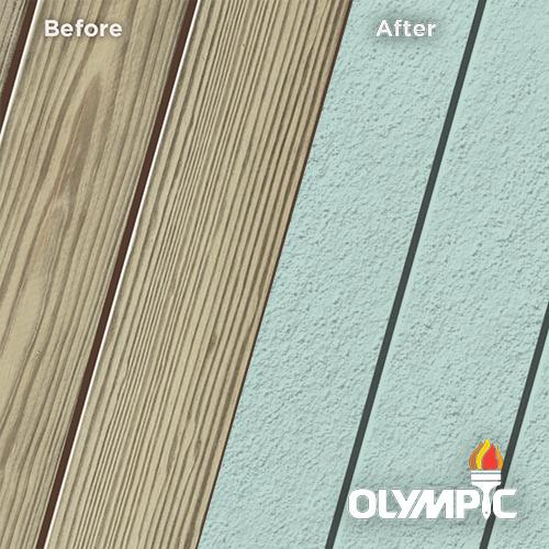 Exterior Wood Stain Colors - Blue Mist - Wood Stain Colors From Olympic.com