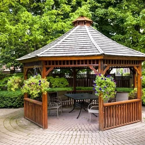 How To Stain A Gazebo