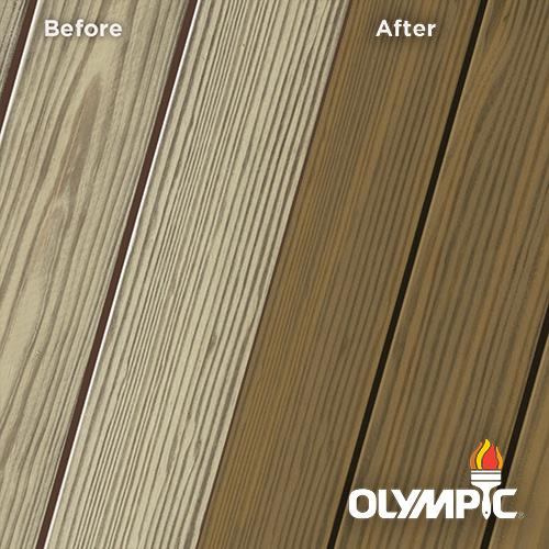 Exterior Wood Stain Colors - Dark Tahoe - Wood Stain Colors From OlympicStains.com