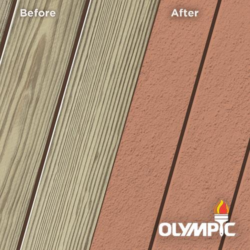 Exterior Wood Stain Colors - Amaretto - Wood Stain Colors From Olympic.com