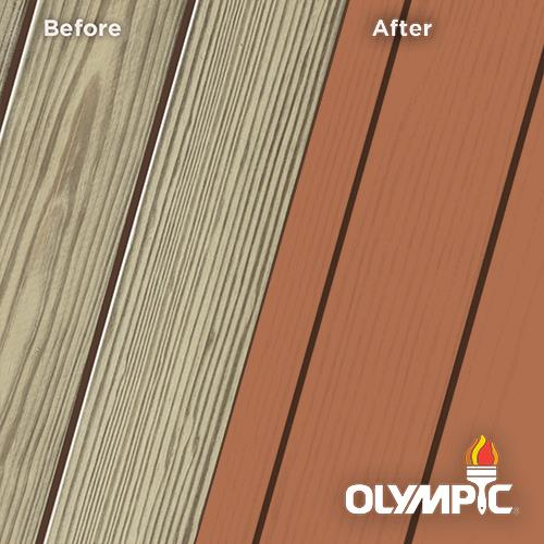 Exterior Wood Stain Colors - California Rustic - Wood Stain Colors From OlympicStains.com