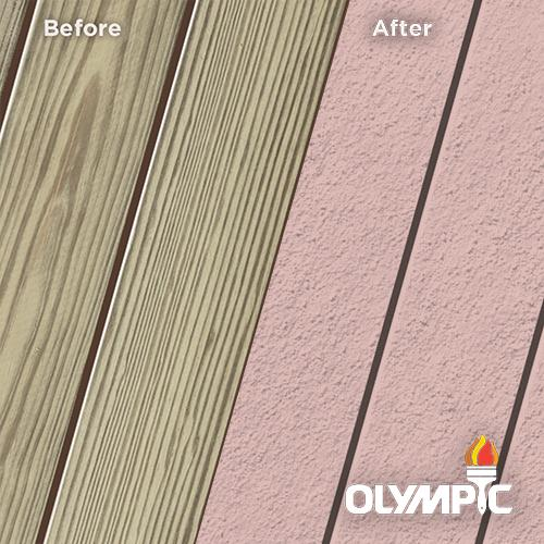 Exterior Wood Stain Colors - Misty Mauve - Wood Stain Colors From Olympic.com