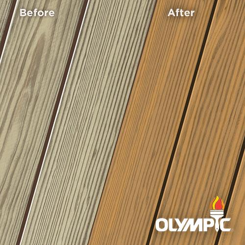 Exterior Wood Stain Colors - Caramel - Wood Stain Colors From Olympic.com