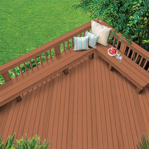 Exterior Wood Stain Colors - California Rustic - Wood Stain Colors From Olympic.com