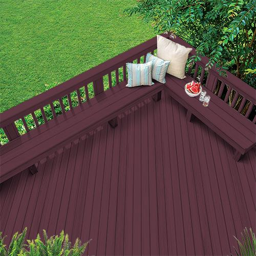 Exterior Wood Stain Colors - Cranberry Sauce - Wood Stain Colors From Olympic.com