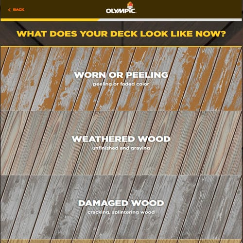 Tell Us About Your Wood