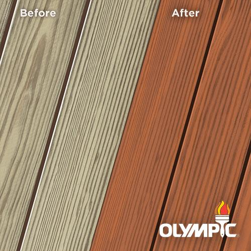 Exterior Wood Stain Colors - Jatoba - Wood Stain Colors From OlympicStains.com