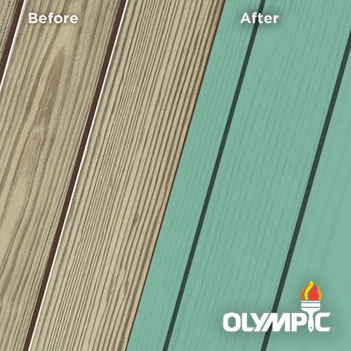 Exterior Wood Stain Colors - Celery Green - Wood Stain Colors From Olympic.com