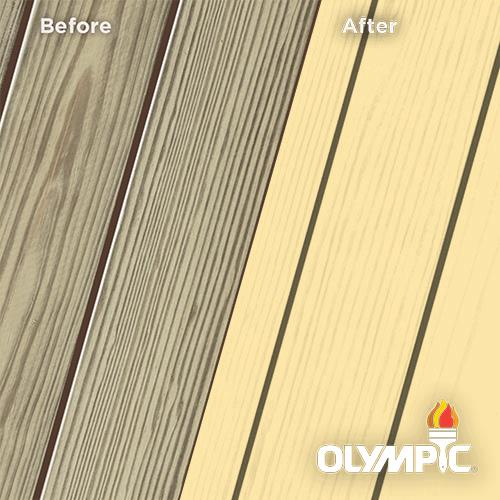 Exterior Wood Stain Colors - Eggnog - Wood Stain Colors From OlympicStains.com