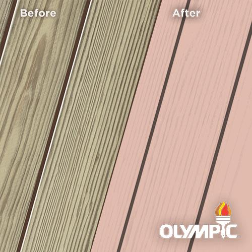 Exterior Wood Stain Colors - Dusty Rose - Wood Stain Colors From Olympic.com