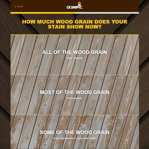 Tell Us the Condition of the Wood