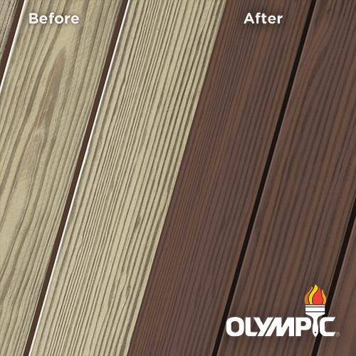 Exterior Wood Stain Colors - Royal Mahogany - Wood Stain Colors From Olympic.com