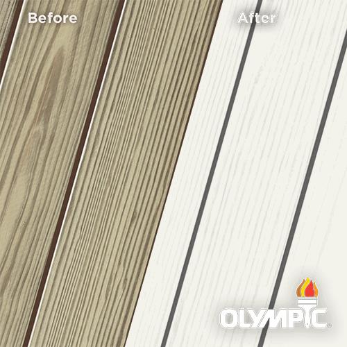 Exterior Wood Stain Colors - Avalanche - Wood Stain Colors From Olympic.com