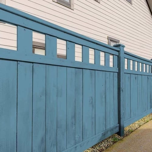 Wooden Fence Colors That Will Wow Your Neighbors
