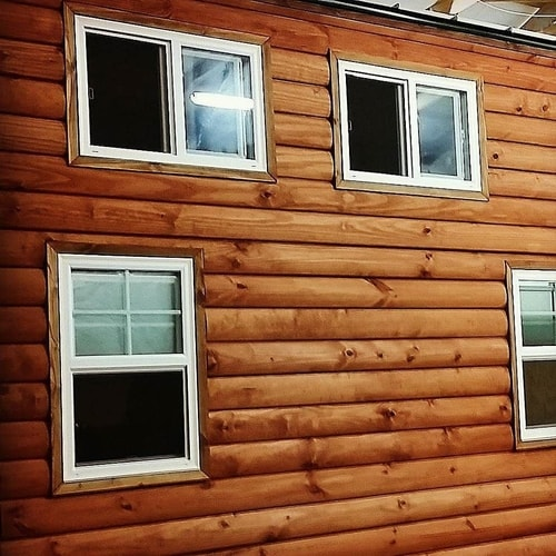 How To Stain Wood Siding