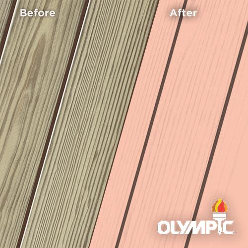 Exterior Wood Stain Colors - Coral White - Wood Stain Colors From OlympicStains.com