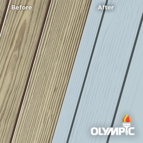 Exterior Wood Stain Colors - Shipmate Blue - Wood Stain Colors From Olympic.com