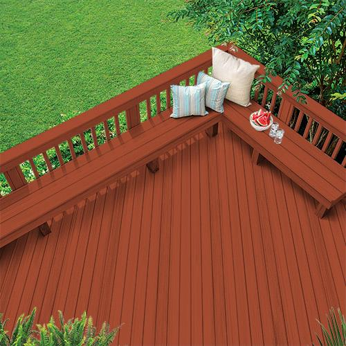 Exterior Wood Stain Colors - Fiery - Wood Stain Colors From Olympic.com