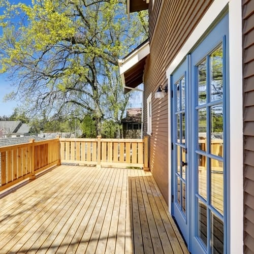 What Are The Best Deck Stain Colors For Blue Houses?