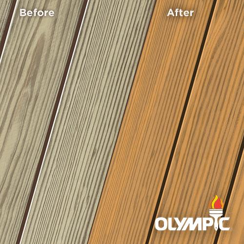 Exterior Wood Stain Colors - Cinnamon - Wood Stain Colors From OlympicStains.com
