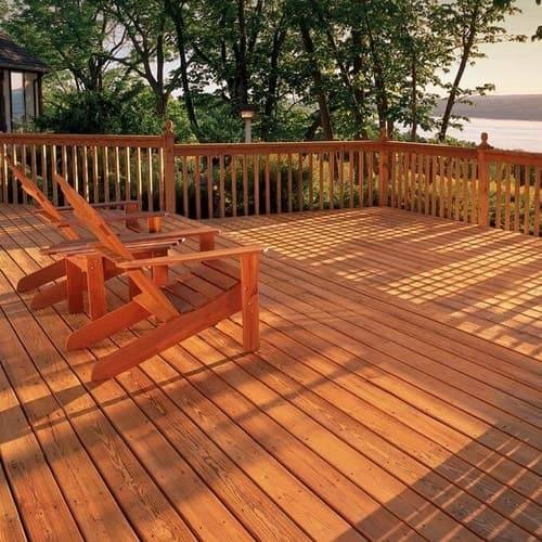 4 Deck Stain Colors For White Or Beige Houses All Your Wood Staining Questions Answered