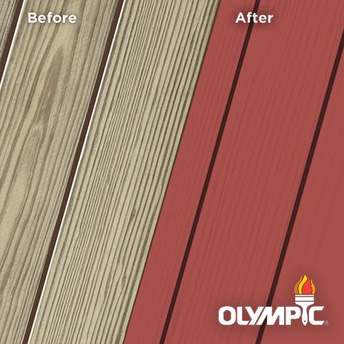 Exterior Wood Stain Colors - Copper Henna - Wood Stain Colors From Olympic.com