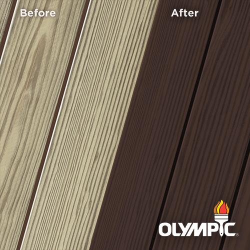 Exterior Wood Stain Colors - Acorn Brown - Wood Stain Colors From Olympic.com