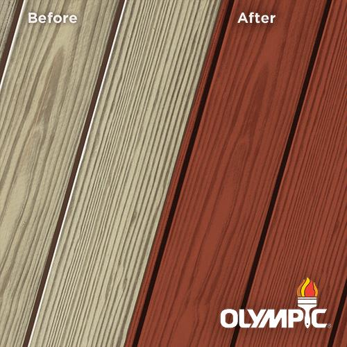 Exterior Wood Stain Colors - Sequoia Red - Wood Stain Colors From Olympic.com