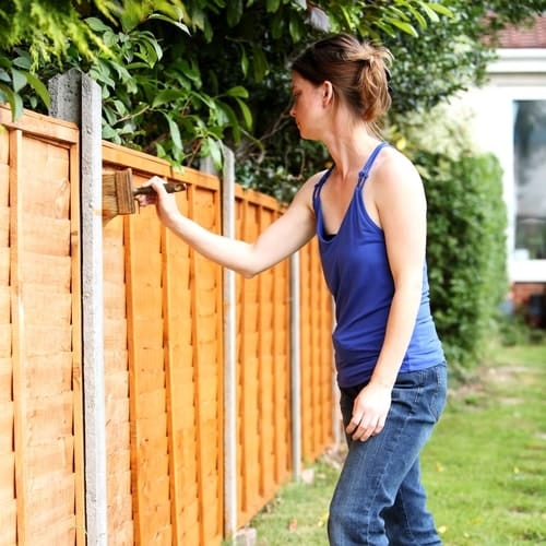 How To Stain A Cedar Fence