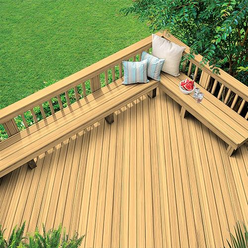 Exterior Wood Stain Colors - Desert Sand Exterior Wood Stain Color - Wood Stain Colors From OlympicStains.com