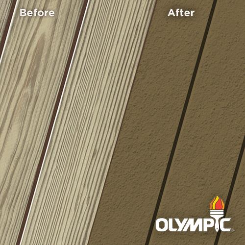 Exterior Wood Stain Colors - Ginger Brown - Wood Stain Colors From Olympic.com