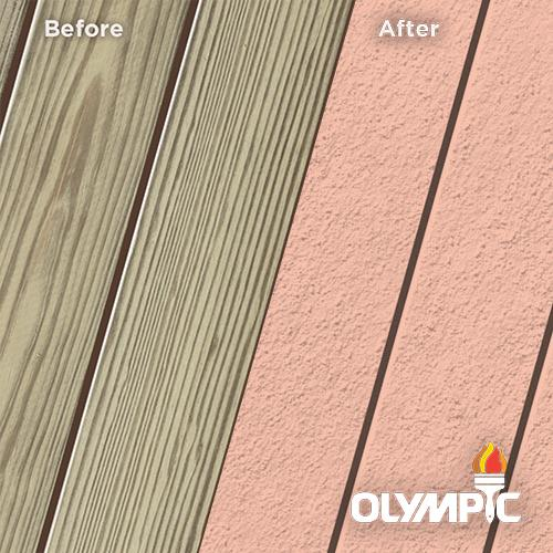 Wood Stain Colors - Coral White - Stain Colors For DIYers & Professionals