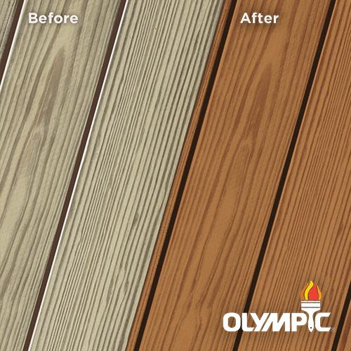 Exterior Wood Stain Colors - Kona Brown - Wood Stain Colors From Olympic.com