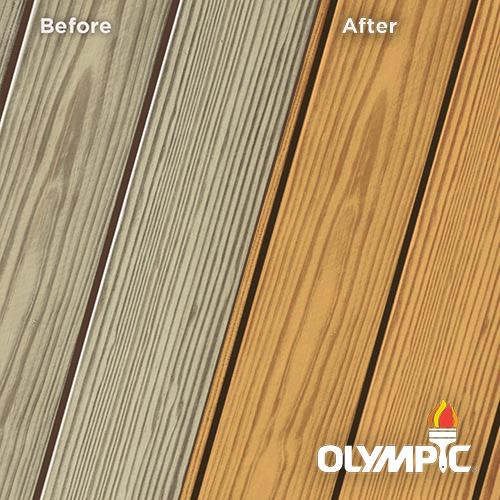 Exterior Wood Stain Colors - Red Cedar - Wood Stain Colors From OlympicStains.com