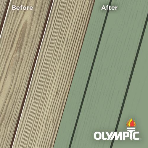 Exterior Wood Stain Colors - Woodland Green - Wood Stain Colors From OlympicStains.com