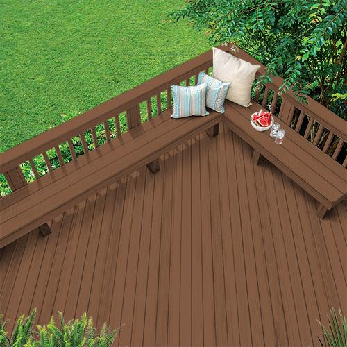 Exterior Wood Stain Colors - Canyon Sunset - Wood Stain Colors From Olympic.com