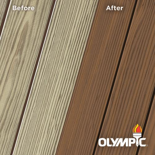 Exterior Wood Stain Colors - Tobacco - Wood Stain Colors From OlympicStains.com