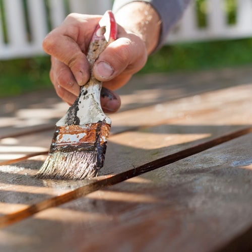 How To Stain A Deck That Is Already Stained