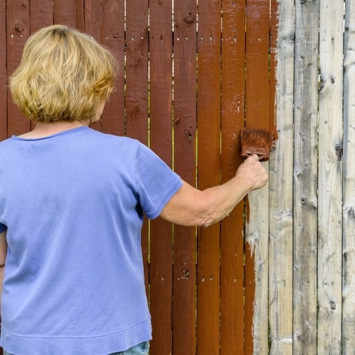 How to Stain a Shed