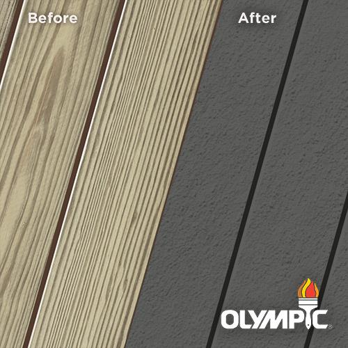 Exterior Wood Stain Colors - Ebony Gray - Wood Stain Colors From Olympic.com