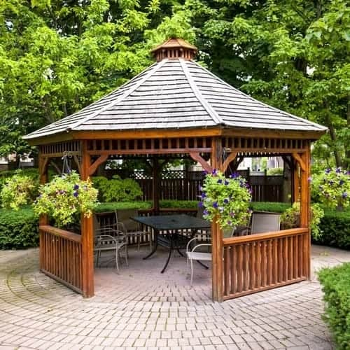 How Do I Stain My Gazebo?