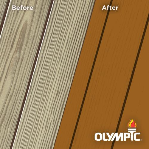 Exterior Wood Stain Colors - Rusted Ore - Wood Stain Colors From Olympic.com